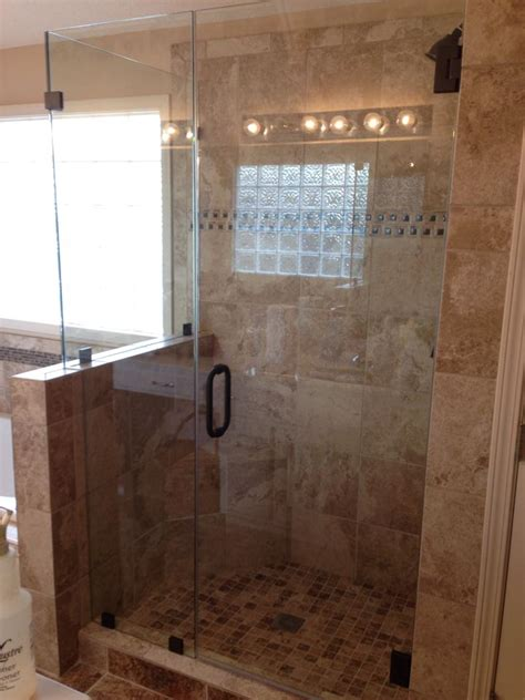 half glass shower doors half shower door is that a half shower glass or is the