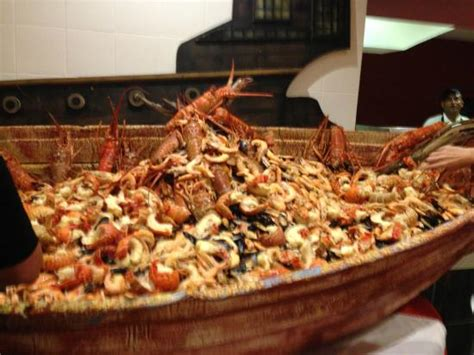 seafood boat seafood boat lobster shrimp clams picture of