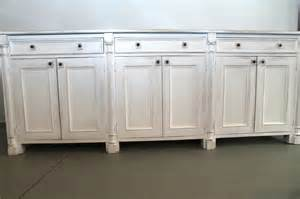 white sideboard white sideboard made from reclaimed wood ecustomfinishes