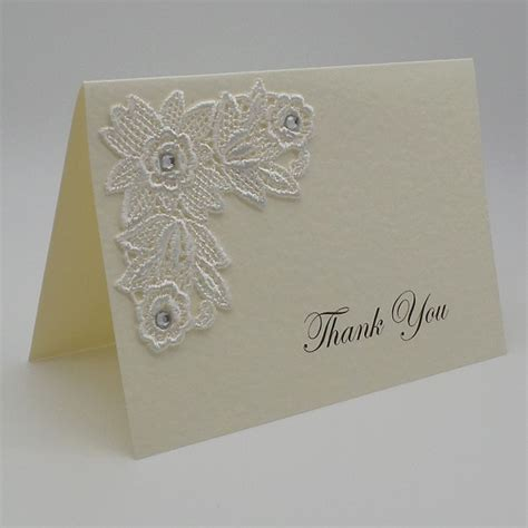 Handmade Wedding Thank You Cards - luxury handmade personalised wedding stationery
