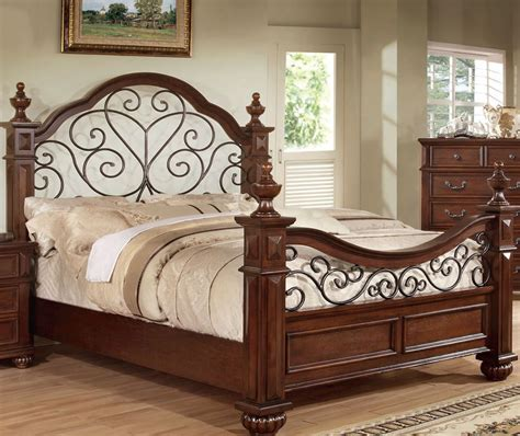cm7811 landaluce antique oak finish king