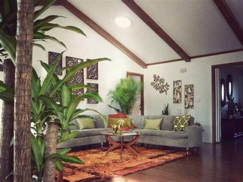 retro tiki inspired living room retro renovation