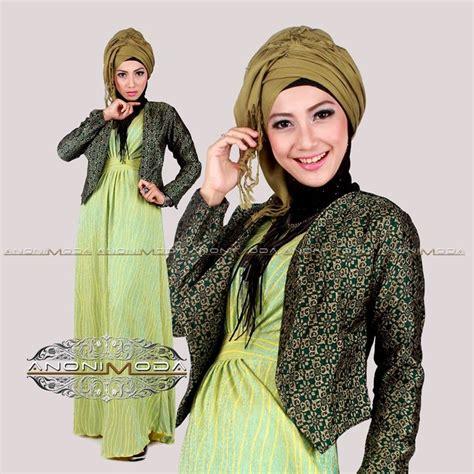Blazer Line Quality 3 Warna pakaian islami abiti moslem style deenerys crinkle by
