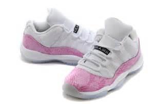 for sale air jordan 11 retro low pink snakeskin white
