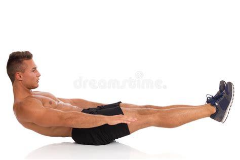 isometric scissors exercise stock image image of abdominal teaching 58799945