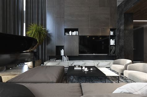 dark interior design 8 living room interior designs and layout with dramatic