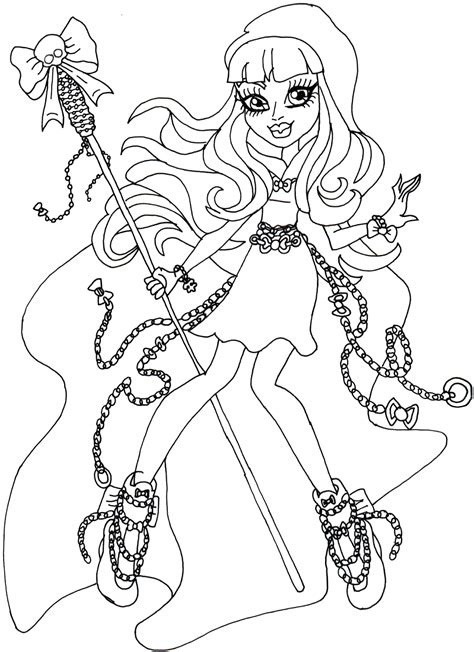 monster high gooliope coloring pages river styxx monster high coloring page png 1162 215 1600