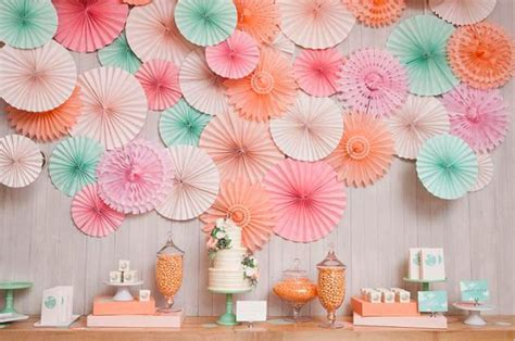 Paper Fan Dekorase Set Gold Edition 10 diy wedding ideas guarenteed to impress your guests