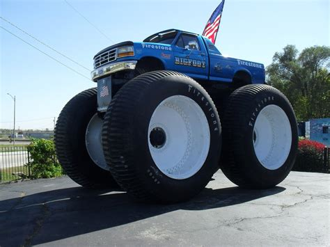 bigfoot 5 monster самый большой монстр трак в мире мастерок жж рф