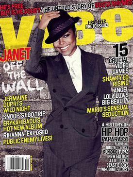Janet Jackson In Vibe Magazine by Vibe Magazine
