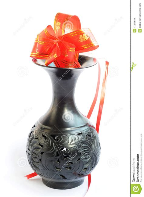 Black Vase With Artificial Flowers by Black Vase With Artificial Flowers Stock Image Image 17277689