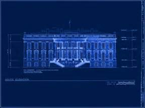 building blueprints front pages white house museum
