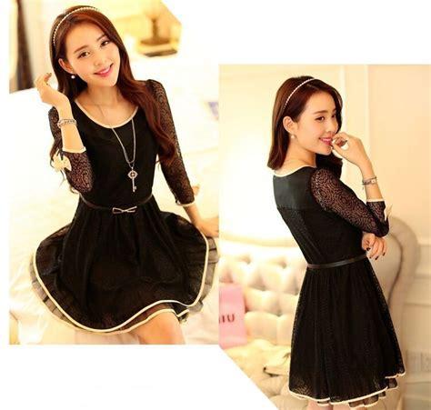 Dress Wanita Inner Hitam dress hitam cantik terbaru 2015 model terbaru jual