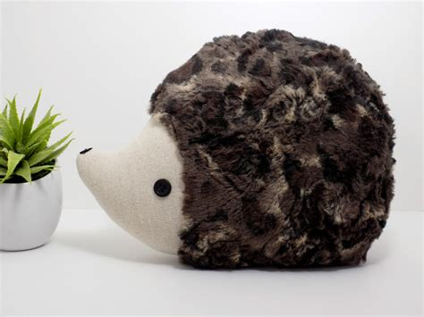 Hedgehog Pillow by Hedgehog Pillow Plush In Multi Tones Hedgehog Stuffed