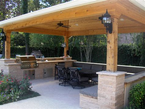 outside gazebo outdoor kitchen gazebo 20 combinations of indoor and