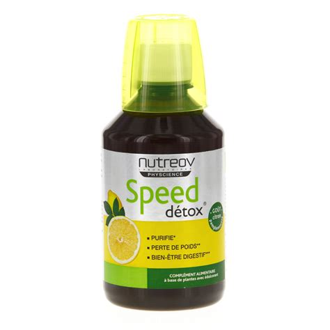 Speed Detox by Nutreov Speed Detox Flacon 280ml Parapharmacie En Ligne