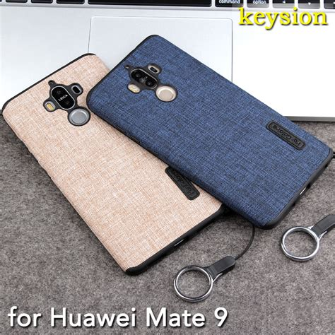Silicon Casing Softcase 3d Huawei Mate 9 1 new for huawei mate 9 fashion linen cloth and tpu silicone soft anti knock cover for huawei