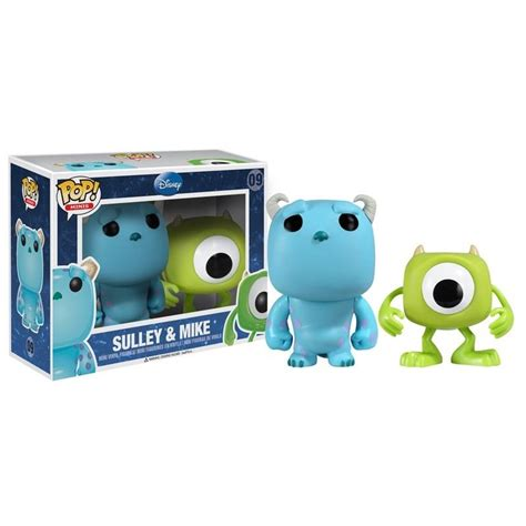 Funko Pop Disney Zero With Bone Set Box Lunch Exclusive funko disney mike sulley 2 5 quot pop vinyl figure box set from monsters inc ebay