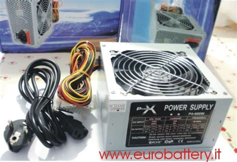 quanto costa un alimentatore per pc power x alimentatore 600 watt new fan 12 cm
