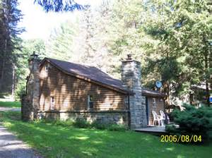 the storybook cabin located on the clarion river