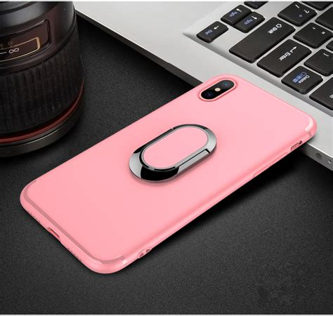 Motomo Solid Metal Iphone 7 Plus 55 Soft Limited 360 176 adjustable metal ring kickstand magnetic adsorption tpu for iphone x ebay