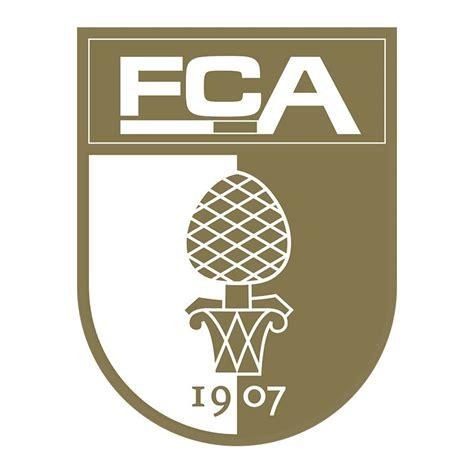 Aufkleber Gold Logo by Fc Augsburg Logo Sticker Gold Augsburg 2014 2015