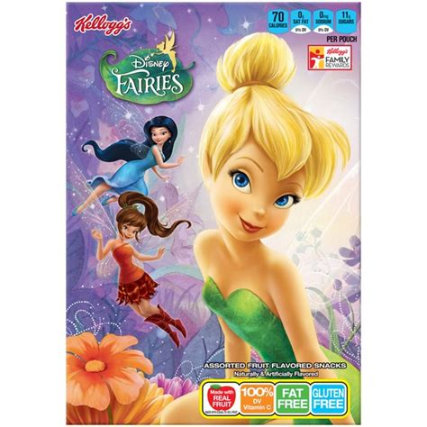 7 up fruit snacks kellogg s disney fairies fruit flavored snacks 8 oz from
