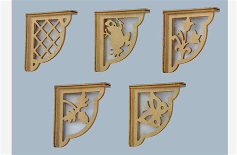 Wood Shelf Bracket Pattern by Wood Shelf Brackets Images