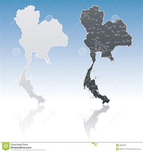 thailand map vector free thailand map stock vector image of drawing bangkok