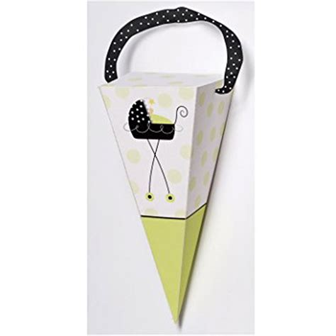 Stroller Baby Shower Theme by Stroller Cone Favor Boxes Baby Shower