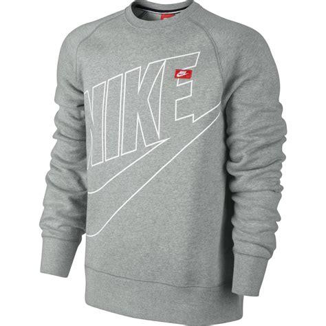 Sweater Logo Nike Keren nike ace fleece logo crew neck sweatshirt crewneck pullover pulli ebay