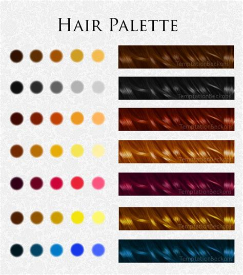hair palette by temptationbeckons on deviantart