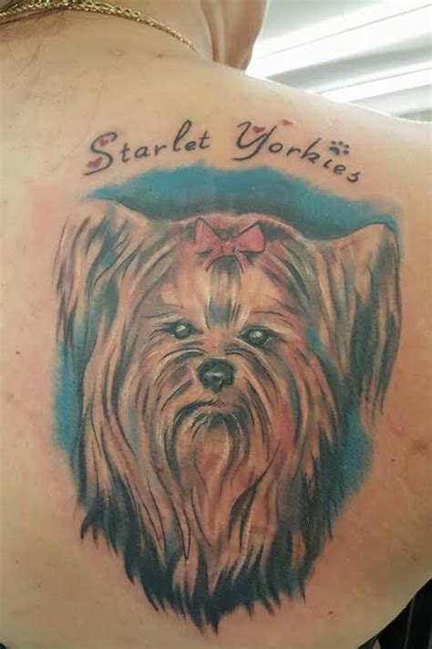yorkshire terrier tattoo designs the 8 coolest terrier designs in the world