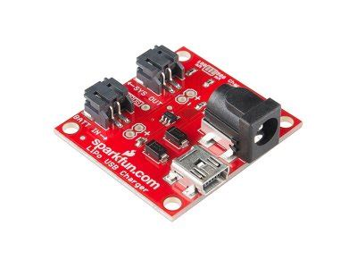 Sparkfun Usb Lipoly Charger buy usb lipoly charger single cell arduino electronics