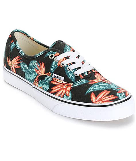 Vans Authentic Vintage Aloha vans authentic vintage aloha skate shoes mens at zumiez pdp
