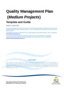 quality management plan template quality management plan template and guide for medium
