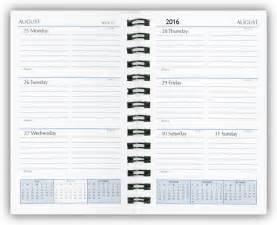 weekly calendar book weekly calendar template