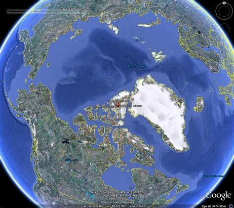 brutus  north pole wolf map