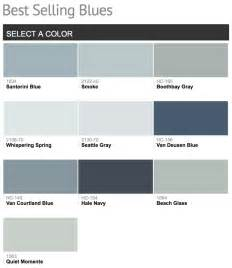 best blue paint best selling benjamin moore paint colors