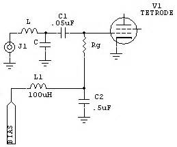 grid resistor values grid driven tetrodes