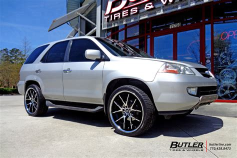 2006 acura mdx tire size acura mdx with 22in lexani r twelve wheels exclusively