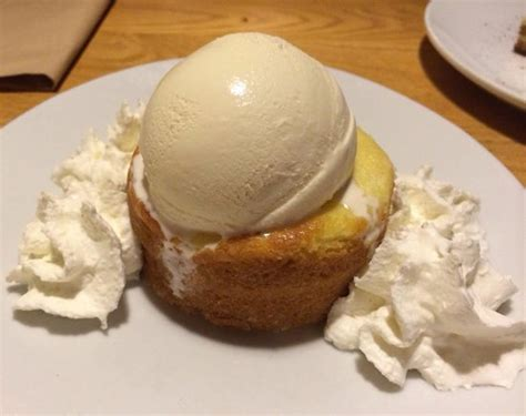 butter cake with ice cream picture of california pizza