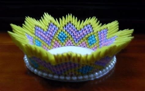 3d Origami Bowl - discover and save creative ideas