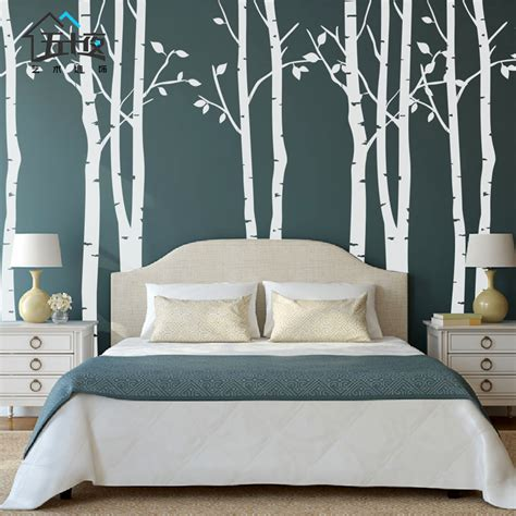 oversized wall stickers free shipping brief the tree tv background wall large wall