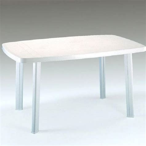 table de jardin en r 233 sine blanche 4 places faro achat