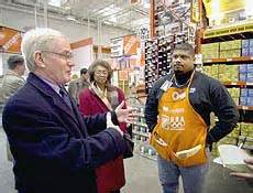 a year after opening home depot says its store is doing