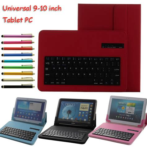 Hp Lenovo Hd universal removable bluetooth keyboard pu cover for hp slate 10 hd for lenovo miix2 10 for