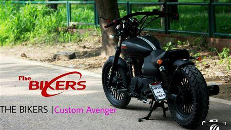 Modified Avenger Bike by Avenger Modified Into Custom Harley Devidson Custom