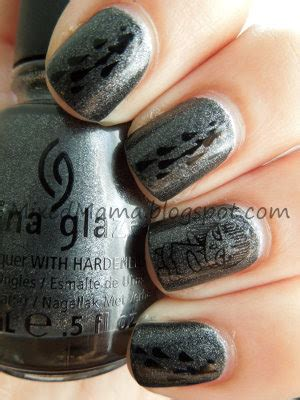 ragdoll nails mixedmama nails black blood and rag dolls