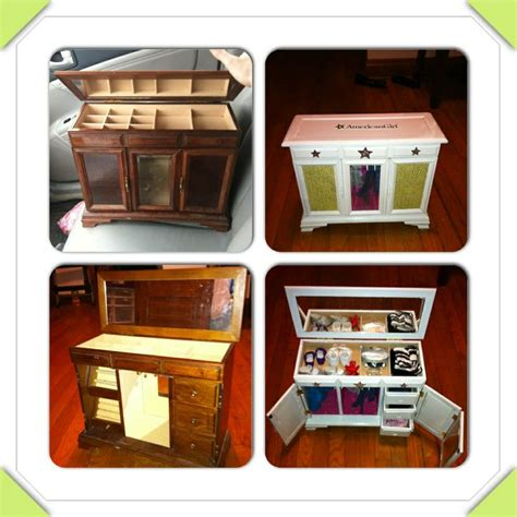 diy 18 inch doll armoire diy before broken jewelry box after american girl or
